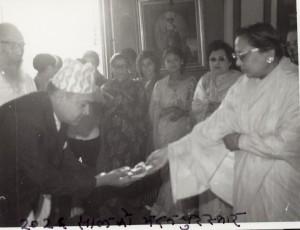 २०२६ सालको मदन पुरस्कारद्वारा सम्मानित 'बेलाइततिर बरालिँदा'का स्रस्टा श्री ताना सर्मा