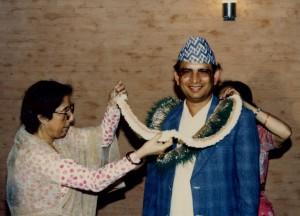 २०४२ सालको मदन पुरस्कारद्वारा सम्मानित 'बैकुण्ठ एक्सप्रेस'का स्रस्टा श्री मोहनराज शर्मा