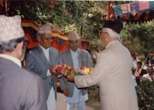 २०५४ सालको मदन पुरस्कारद्वारा सम्मानित 'विसर्जन'का स्रस्टा श्री लोकेन्द्रबहादुर चन्द